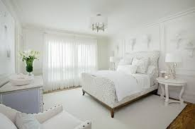 bedroomwhite bedroom decor photo with nice and huge bed headboard chic and cozy white bedroom white