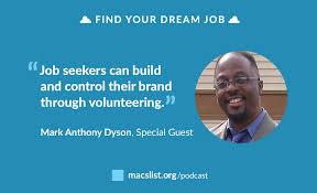 find a job that matters mac s list