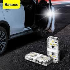 <b>Baseus</b> 2pcs 6 LEDs <b>Car</b> Openning <b>Door</b> Warning Light Safety Anti ...