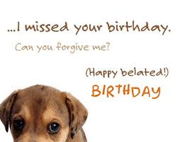 Image result for happy belated birthday images