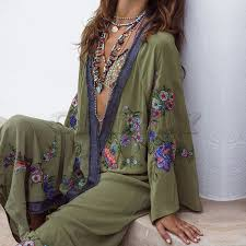 <b>CUERLY</b> 2019 Summer <b>Floral</b> Embroidered Beach Maxi Dress ...