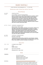 school bus driver resume samples   visualcv resume samples databaseschool bus driver resume samples