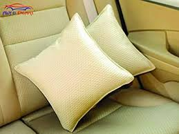 Autopearl Car Vastra <b>Cushion Set</b> Beige Color For Car & Home - <b>Set</b> ...