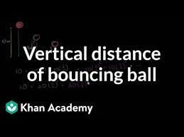 Infinite geometric series word problem: bouncing ball (video) | Khan ...