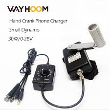 Portable Hand Crank Generator <b>30W Small</b> Dynamo Outdoor ...
