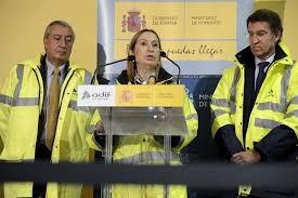 Image result for La ministra de Fomento presenta el nuevo tren Alvia híbrido de alta velocidad de Renfe que unirá Galicia y Madrid
