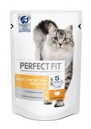 Купить <b>perfect fit паучи</b> для чувствительных кошек с индейкой для ...