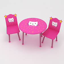 baby table seats on 3d model kid s table with chairs 19 95 buy download baby kids kids furniture