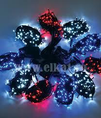 <b>Комплект гирлянд</b> на елку Clip <b>Light</b> 10 м, 1000 led (белый -синий ...