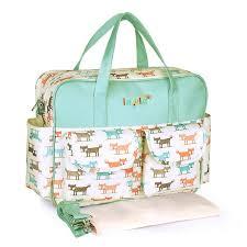 <b>Fashion Print</b> Diaper Bag for Mom <b>Waterproof</b> Large Capacity <b>Baby</b> ...