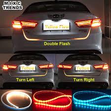 <b>Car Styling</b> Turn Signal Amber Flow Led strip trunk <b>Tail Light</b> Ice ...
