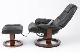Best Restwell napoli swivel <b>recliner brown</b> leather effect <b>massage</b> ...