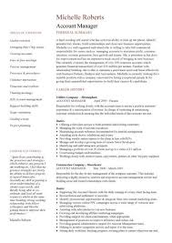 simple key account manager resume l manager resume sample key    key account manager resume template sample   manager resume sample