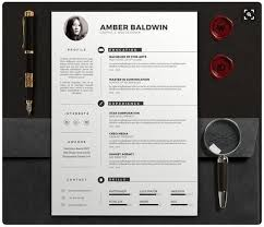 modern resume templates docx to make recruiters awe  cv and resume docx clean design estrashop