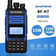 Портативная <b>рация Baofeng BF</b>-<b>H7</b> 10 Ватт (с гарнитурой) купить ...