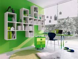 stunning home office for kids with cute portable filling cabinet and bold green interior decoration elegant interior painting ideas beautiful office wall paint colors 2 home