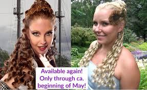 <b>Hair</b> Pieces, Braids, Headbands & Buns in Custom Colors <b>MAGIC</b> ...