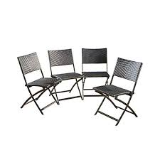 Christopher Knight Home El Paso PE / Iron <b>Dining Chairs</b>, <b>4</b>-<b>Pcs</b> Set ...