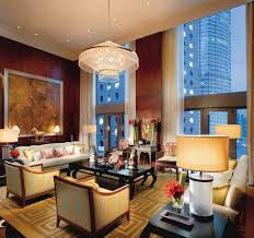 bathroom suite mandarin: the  most luxurious hotel suites in hong kong photos architectural digest