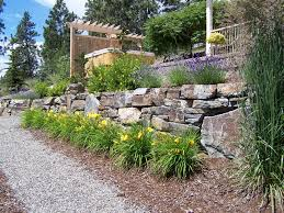 landscaping ideas rock walls backyard landscaping ideas rocks