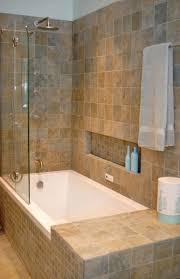 bathroom tile band glass