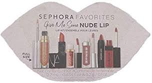 Sephora Favorites Give me some NUDE LIP - 6 piece ... - Amazon.com