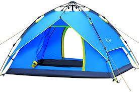 Qisan Hydraulic <b>Dome Tent</b> Canopy for Camping <b>Automatic</b> ...