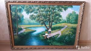 <b>Картина маслом на холсте</b> - Для дома и дачи, Мебель и ...