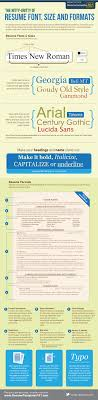 how to properly format your resume infographic resume formats infographic