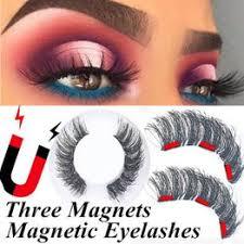 4Pcs/Set Three Magnets Magnetic Eyelashes Fake ... - Vova