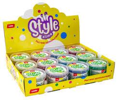 Шоу-бокс STYLE <b>SLIME</b> в ассортименте 12 шт. по 120 мл