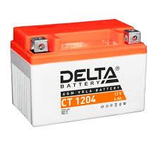 Стартерный аккумулятор <b>Delta</b> CT 1204 (12V / 4Ah) [YB4L-A ...