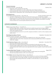 marketing resume  no shortage of experience