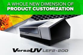 <b>VersaUV LEF2</b>-<b>200</b> Flatbed UV Printer | <b>Roland</b> DGA