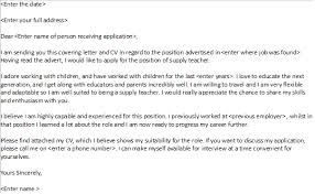 supply teacher cover letter example   learnist orgsupply teacher cover letter example