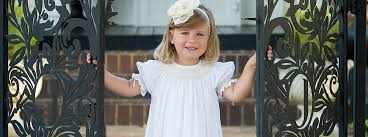 Lace <b>Flower Girl Dresses</b> Silk White Ivory Smocked Formal Dress ...