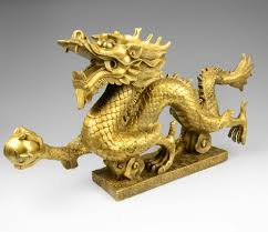 bronze dragon ornaments feng shui decorations home furnishing office copper chinese feng shui dragon