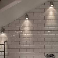 wall spot light wall mounted light in a sloping bathroom ceiling ceiling spot lighting
