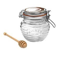<b>Горшочек для меда</b> 400мл с деревянной ложкой, Kilner