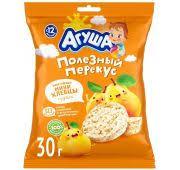 <b>Агуша</b> рисовые <b>мини хлебцы</b> груша 30 гр. — купить в городе ...