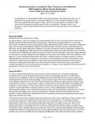 cover letter an example of a reflective essay an example of a cover letter cover letter template for personal reflective essays examples essay self on writing outline formatan