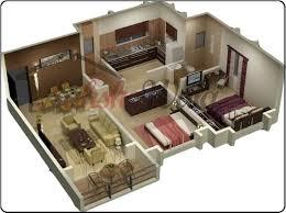 D Floor Plans  D House Design  D House Plan  Customized D Home    b  D floor planS jpg