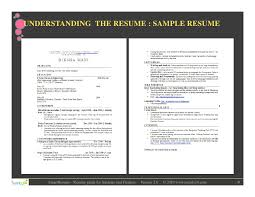 9 understanding the resume sample resumes format for freshers