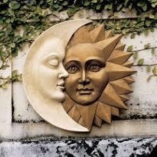 <b>Cast Iron Moon Wall</b> Art Indoor Outdoor Celestial -- Discover even ...