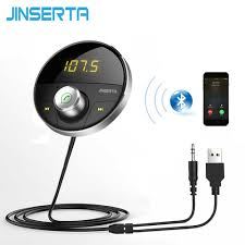 JINSERTA <b>Wireless</b> 3.5mm <b>Bluetooth V4</b>.<b>2</b> Receiver <b>Car</b> MP3 ...
