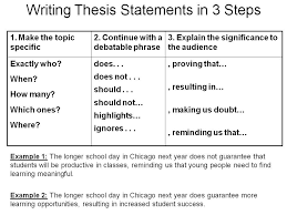example of a thesis statement in an essay solve the system of