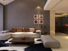 dark beige living room with beige sofa black and white rug dark brown coffee black beige living room