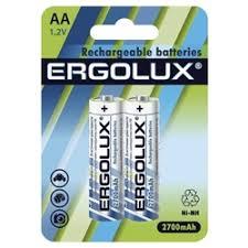 Батарейки и <b>аккумуляторы Ergolux</b> — купить на Яндекс.Маркете