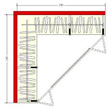 Armadio Angolare Misure : Cabina armadio