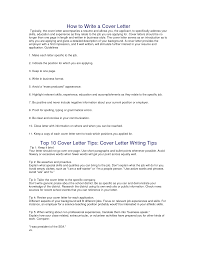 cover letter how to write a cover letter for resumes gallery of how to write a cover letter for resumes s